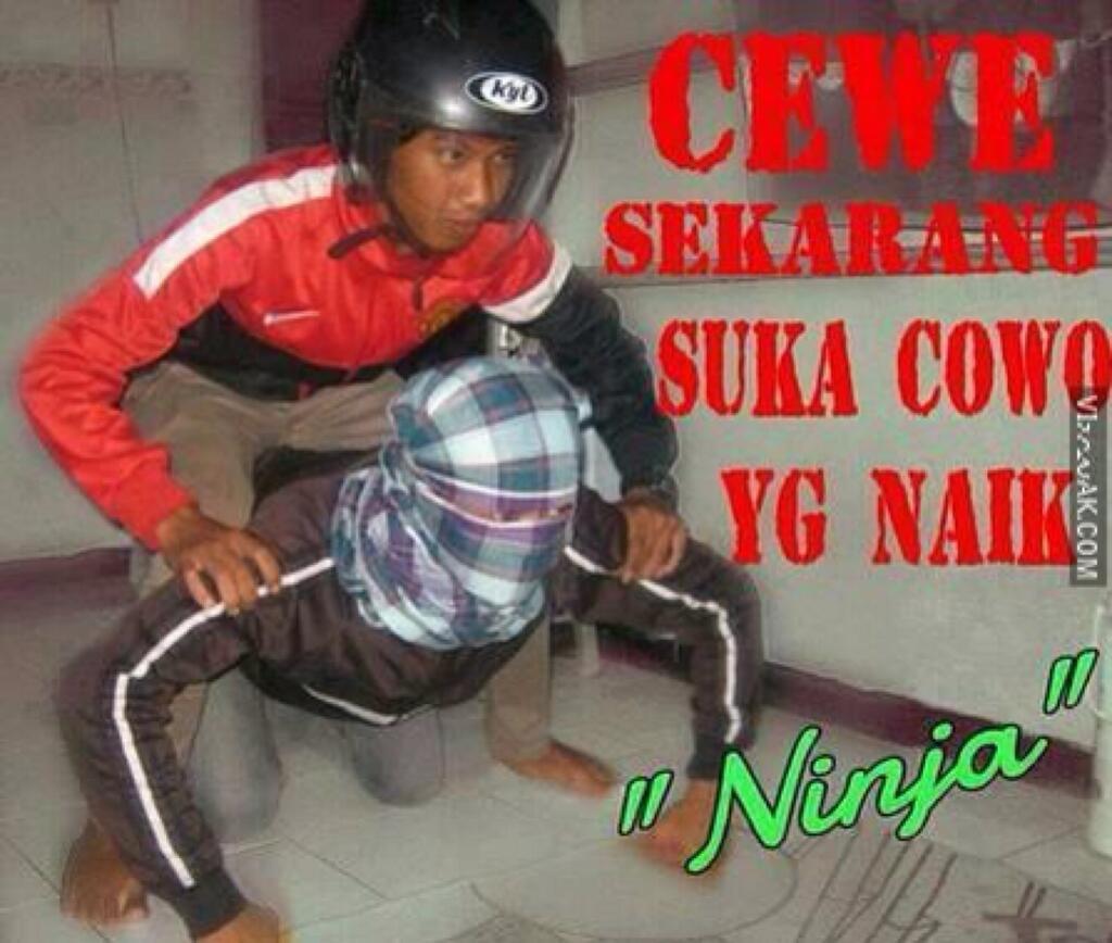 Rasane Koyok Opo Yoo Lek Numpak Ninja Seng Koyok Iki AE1214LS